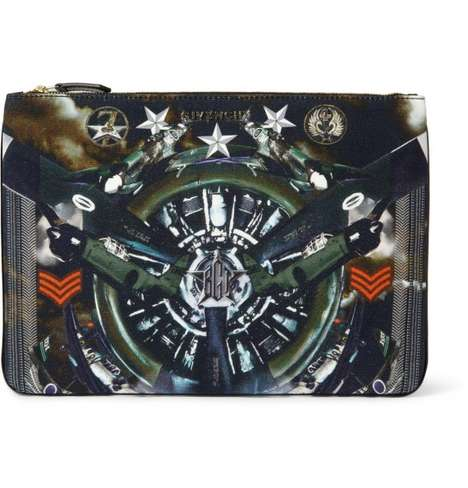 Givenchy Fighter Plane Pouch
