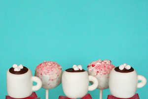 The Hot Chocolate Cake Pops are an Adorable Festive Treat