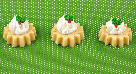 Festive Dairy-Based Shooters - The Eggnog Jelly Shots are the Perfect Idea for Holiday Parties