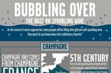 Popping Champagne Infographics