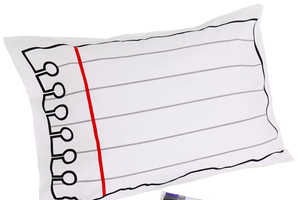 The Doodle Pillowcase Ensures Notes Get Passed Along and Not Lost