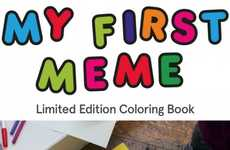 Literary Meme Legacy Books - My First Meme Coloring Book Makes Sure Epic Icons are Never Forgotten