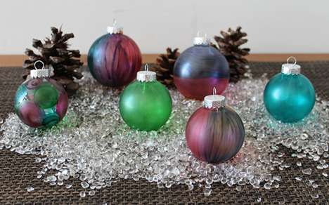 Bold Christmas ornaments