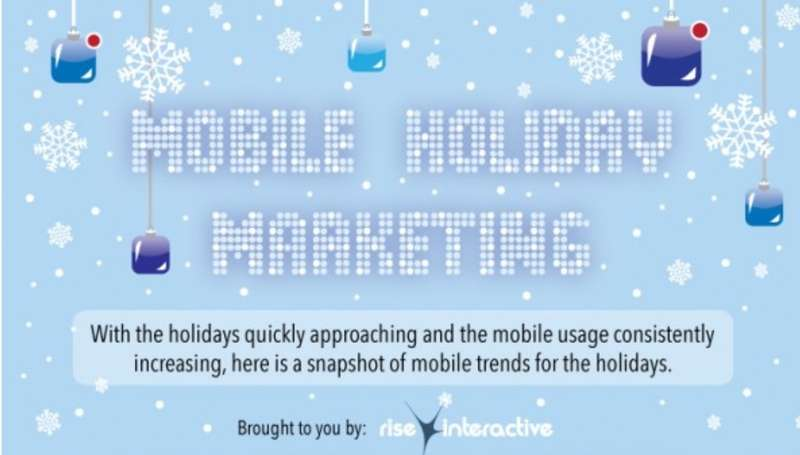 Festive Phone Advertising