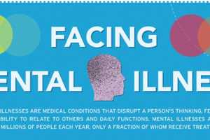 The 'Facing Mental Illness' Infographic Lays Out Details