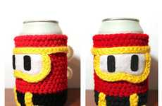 Retro Gamer Beer Covers - The Dig Dug Can Cozy Keeps Your Drink Cold Until You Run Out of Quarters