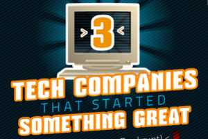 'Tech Companies That Started Something Great' Infographic is Smart