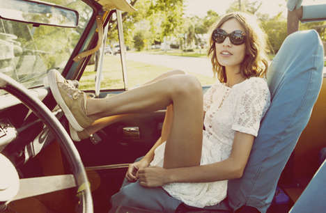 Lawless Bohemian Editorials - The Guy Aroch Portfolio is Full of Heavenly Hipster Hotties