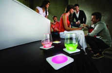 Illuminating Chromatic Coasters