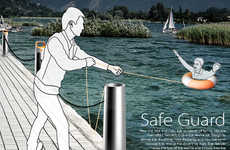 Safe Guard Buoy Lets Non-Swimmers Save Drowning People