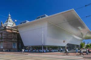 Amsterdam's Stedelijk Museum Boasts a Fixture-Resembling Extension