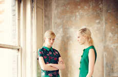 The Erdem Pre-Fall 2013 Photoshoot Exudes Crisp Looks