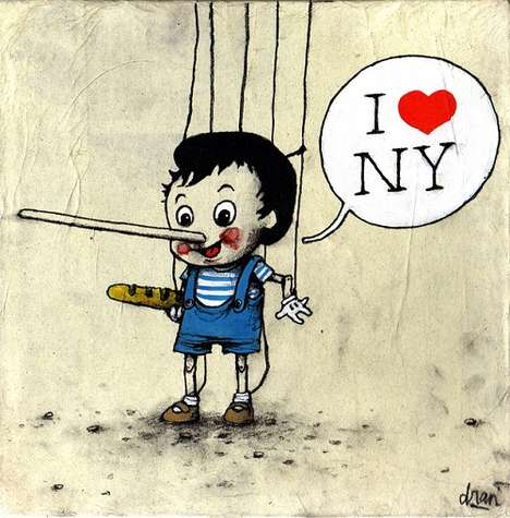 french street artist dran