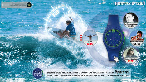 swatch israel time game