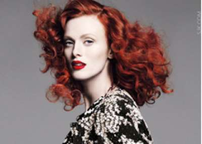 Captivating Karen Elson Photoshoots 