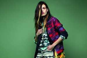 The Topshop 'Rave New World' Lookbook Mixes Prints