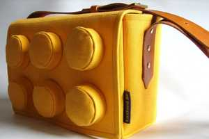 The LEGO Bag by Luxford St. is Practical Geeky Chic