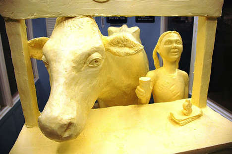 butter sculptures