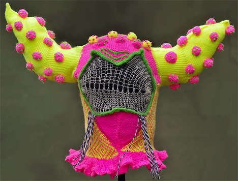 Brutal Knitting Monster Hats