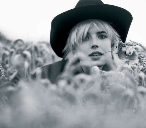 10 Wicked Ben Weller Editorials - From Milk Maid Spreads to Androgynous Western Photoshoots