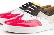 The Christian Louboutin Golfito Kicks are Bright & Classy