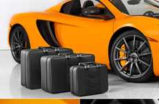 Luxe Leather Car Luggage