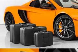 McLaren Releases Exclusive Luggage & Sports Car Accessories