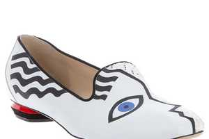 The Nicholas Kirkwood 'Picasso' Slipper is a Humble Work of Art