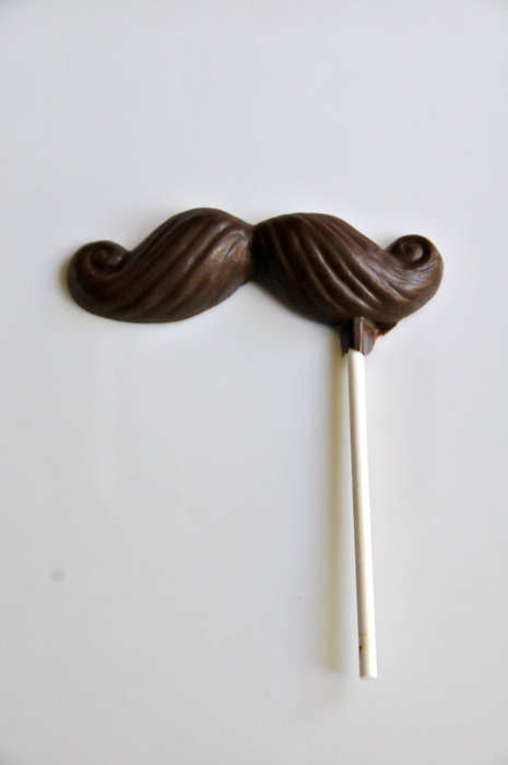 Chocolate Mustache Pop