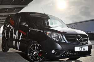 The KTW Mercedes-Benz Citan is a Functional and Fashionable Tune Job
