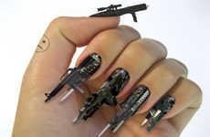 16 Examples of 3D Nail Art