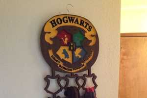 The DIY Harry Potter Scarf Rack is a Magically Tricky Project