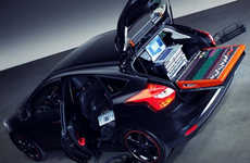 Four-Wheel Recording Studios - The Ford Focus DJ Booth Puts Audio Above All Else