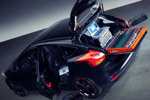 The Ford Focus DJ Booth Puts Audio Above All Else