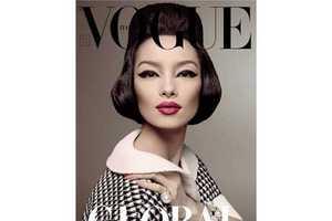 Lei Lei Sun Looks Ravishingly Retro in Vogue Italia January 2013
