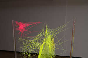 Artist Anthony Michael Simon Impresses with Colorful Spiderweb Art