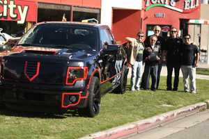 The Batmobile Ford F-150 Brings Two Worlds Together