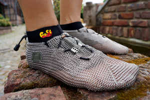 Medieval Meets Modern Function in These Chainmail Shoes