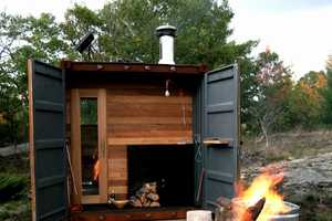 The Sauna Box Allows for a Steamy Good Time Anywhere You Travel