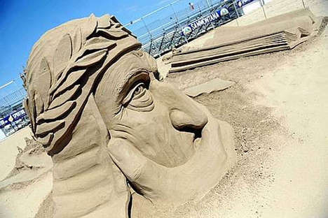 Surreal Sand Sculptures