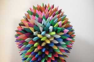 Byriah Loper Origami Art is Modular and Colorful