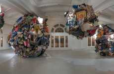 Globular Garbage Sculptures