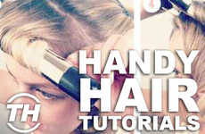 Handy Hair Tutorials - Courtney Scharf Reveals Angelic and Accessible Holiday Hairstyles