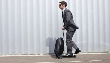 Scooter-Suitcase Hybrids - The Micro Luggage Products are Mobile