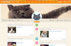 Feline-Focused Social Networks - Catmoji Brings Social Networking to Cat Lovers