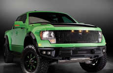 Brewery-Inspired Trucks - The GAS PBR Raptor is Designed to Make the Ultimate Beer Run