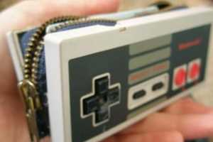 Pay Tribute to a Piece of Gaming History with the Nes Controller Wallet