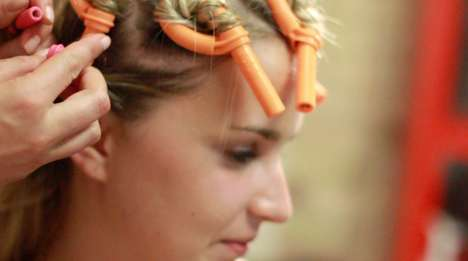 Electrifying Hair Tutorials - Marina Rotharmel Models Magnificent DIY Curly Hairstyles