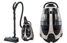 Dirt-Detecting Vacuum Cleaners - This Vacuum Adjusts Air Flow and Suction to Maximize Cleaning