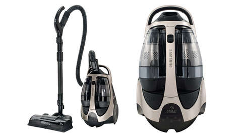dirt detecting vacuum cleaner